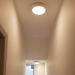 Cleverspark Electrical Installers and Electrians based in Bristol, Bath and the South West of England - An example of communal lighting with timer switch
