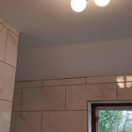 Cleverspark Electrical Installers and Electrians based in Bristol, Bath and the South West of England - An example of interior bathroom light fixtures/fittings