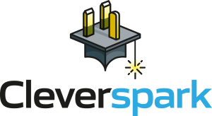 Cleverspark Electrical Installers and Electrians based in Bristol, Bath and the South West of England - Full Logo Coloured