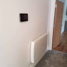 Cleverspark Electrical Installers and Electrians based in Bristol, Bath and the South West of England - An example of interior video and electric heating installation