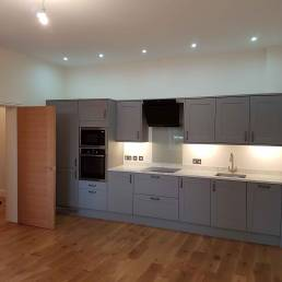 Cleverspark Electrical Installers and Electrians based in Bristol, Bath and the South West of England - An example of interior spotlight kitchen light fixtures/fittings