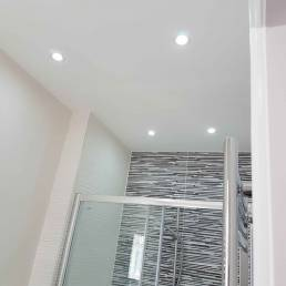Cleverspark Electrical Installers and Electrians based in Bristol, Bath and the South West of England - An example of interior spotlight bathroom light fixtures/fittings